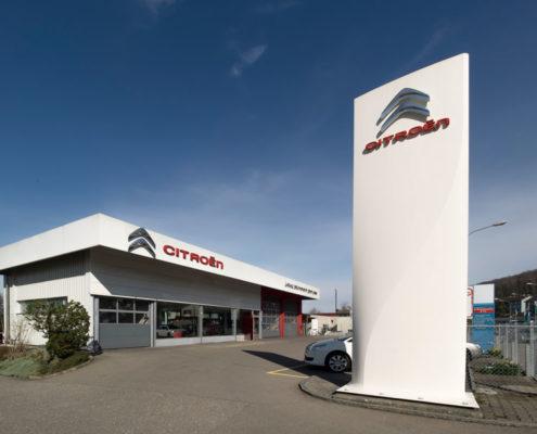 Garage (Im Auftrag von DaRugna-Hermann Maler GmbH) | Unternehmensfotografie | Thomas Hadorn Fotografie
