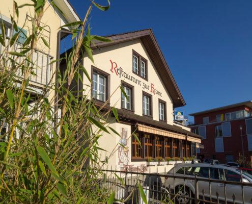 Restaurant Krone, im Auftrag von DaRugna-Hermann Maler GmbH, Hedingen | Unternehmensfotografie | Thomas Hadorn Fotografie