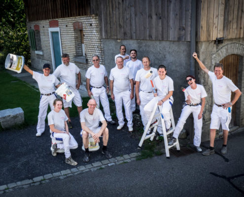 Team Da Rugna Maler #2 | Mitarbeiterportrait | Thomas Hadorn Fotografie